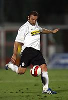 Fotball<br /> Italia<br /> Foto: Inside/Digitalsport<br /> NORWAY ONLY<br /> <br /> Cristiano Zanetti (Juventus)<br /> <br /> Friendly match<br /> 11 Aug 2007 <br /> Juventus v Roma (5-2)