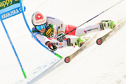 March 9, 2019 - Kranjska Gora, Kranjska Gora, Slovenia - Elia Zurbriggen of Switzerland in action during Audi FIS Ski World Cup Vitranc on March 8, 2019 in Kranjska Gora, Slovenia. (Credit Image: © Rok Rakun/Pacific Press via ZUMA Wire)