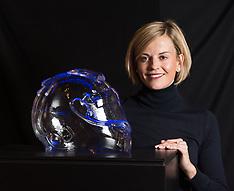 Unique Scottish F1 racing driver portrait unveiled, Edinburgh, 27 September 2018