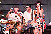 The Informants play the Walnut Street stage at Bohemian Nights at the New West Fest, Fort Collins CO, August 2009
