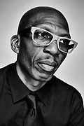 Hank Shocklee, The Bomb Squad photographed in New York City