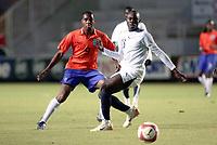 Fotball<br /> U20 Ghana v Nederland<br /> Foto: Dppi/Digitalsport<br /> NORWAY ONLY<br /> <br /> FOOTBALL - UNDER 20 - INTERNATIONAL TOULON FESTIVAL - 01/06/2007 - GHANA v NETHERLANDS - MOHAMMED YAHAYA (GHA) / KEMY AGUSTIEN (NET)