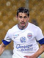 Romain POYET - 26.10.2012 - Arles Avignon / Caen - 12eme journee de Ligue 2 - photo : Nicolas Guyonnet / Icon Sport