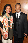 """15 November 2010- New York, NY- l to r: Phylicia Rashad and Rev. Al Sharpton at The National Action Network's 1st Annual Triumph Awards honoring """"Our Best"""" in the Arts, Entertainment, & Sports held at Jazz at Lincoln Center on November 15, 2010 in New York City. Photo Credit: Terrence Jennings"""