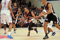 Benjamin Sene - 27.12.2014 - Paris Levallois / Nancy - 15eme journee de Pro A<br />Photo : Andre Ferreira / Icon Sport