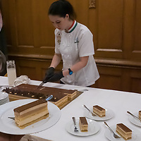 Cake of Hungary 2020 Curiositas is seen after announced at a press conference in the house of Parliament in Budapest, Hungary on Aug. 4, 2020. ATTILA VOLGYI