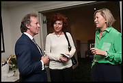 CHRISTOPHER LINDSAY; KATY ANDREEVA; LADY ALEX FOLEY, The hon Alexandra Foley hosts drinks to introduce ' hon Foley Grand Tour' with special guest Julian Fellowes. the Sloane Club. Lower Sloane st. London. 14 May 2014