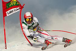 25.11.2012, Lake Louise, CAN, FIS Ski Alpin Weltcup, Lake Louise, SuperG, Herren, im Bild Joachim Puchner of Austria // during Mens SuperG of FIS Ski Alpine World Cup at Lake Louise, Canada on 2012/11/25. EXPA Pictures © 2012, PhotoCredit: EXPA/ ESPA/ John Evely