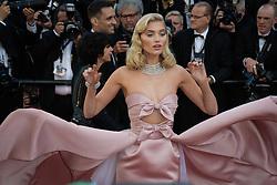 Elsa Hosk attending the premiere of the film Les Filles du Soleil during the 71st Cannes Film Festival in Cannes, France on May 12, 2018. Photo by Julien Zannoni/APS-Medias/ABACAPRESS.COM