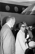 25/08/1963<br /> 08/25/1963<br /> 25 August 1963<br /> Royal Visit by Prince Rainier and Princess Grace of Monaco. The Royal family arrive at Dublin Airport. Princess Grace and Prince Albert are greeted by  Frank Aiken by the aircraft at Dublin Airport.