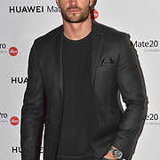 Thom Evans attend Huawei - VIP celebration at One Marylebone London, UK. 16 October 2018.