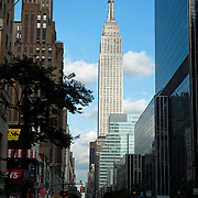 Empire state building. New York city.USA.