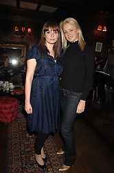 Left to right, GIZZI ERSKINE and SOPHIE MICHELL at a tea party to launch Pearl Lowe's Spring 2007 fashion collection held at Libery, Great Marlborough Street, London on 20th March 2007.<br />NON EXCLUSIVE - WORLD RIGHTS