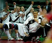 Handball , 7. desember 2006 , Euro  Womens European Championship , <br /> Poland - Germany<br /> Polen - Tyskland<br /> Håndball<br /> <br /> Armin Emrich , trainer Germany