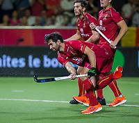 ANTWERPEN - Loïck Luypaert (Belgie) .  de finale mannen  Belgie-Spanje (5-0),  bij het Europees kampioenschap hockey. Belgie Europees Kampioen.   COPYRIGHT KOEN SUYK