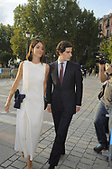 091819 Duke of Huescar and Sofia Palazuelo attends an event at Royal Theater