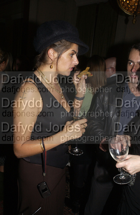 TRACEY EMIN, Book launch party for 'Strangeland' by Tracey Emin.  33 Portland Place. London. 21 October 2005. ONE TIME USE ONLY - DO NOT ARCHIVE © Copyright Photograph by Dafydd Jones 66 Stockwell Park Rd. London SW9 0DA Tel 020 7733 0108 www.dafjones.com