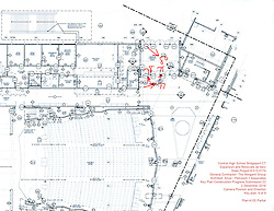 Key Plan 9 of 9: Central High School Bridgeport CT Expansion & Renovate as New. State of CT Project # 015--0174 Progress Submission 22 - 2 December 2016