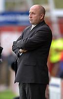 Photo: Paul Greenwood.<br />Accrington Stanley v Swindon Town. Coca Cola League 2. 07/10/2006.<br />Accrington Stanley Manager John Coleman.