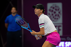February 11, 2019 - Doha, Spain - Ajla Tomljanovic of Australia in action during the final qualifications round of the 2019 Qatar Total Open WTA Premier tennis tournament (Credit Image: © AFP7 via ZUMA Wire)