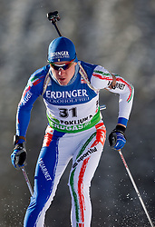 Lukas Hofer of Italy during the Men 10 km Sprint of the e.on IBU Biathlon World Cup on Saturday, December 18, 2010 in Pokljuka, Slovenia. The fourth e.on IBU World Cup stage is taking place in Rudno polje - Pokljuka, Slovenia until Sunday December 19, 2010. (Photo By Vid Ponikvar / Sportida.com)