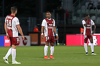 Deception Metz - Florent MALOUDA - 09.05.2015 -  Metz / Lorient  - 36eme journee de Ligue 1<br />