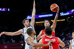 Goran Dragic of Slovenia during the Final basketball match between National Teams  Slovenia and Serbia at Day 18 of the FIBA EuroBasket 2017 at Sinan Erdem Dome in Istanbul, Turkey on September 17, 2017. Photo by Vid Ponikvar / Sportida