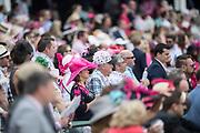 May 3, 2019: 145th Kentucky Oaks at Churchill Downs. Race goers enjoy racing action