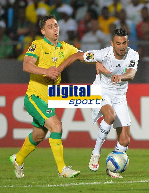 Dean Furman ( Afrique du Sud ) - Riyad Mahrez ( Algerie )