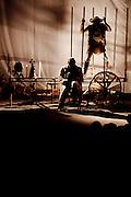 Belo Horizonte_MG, Brasil...Cia Burlantins com a peca Oratorio: A saga de Dom Quixote e Sancho Panca na SPASSO, escola de circo em Belo Horizonte, Minas Gerais...Cia Burlantins with the piece Oratorio: A saga de Dom Quixote e Sancho Panca at Spasso, circus school in Belo Horizonte, Minas Gerais...Foto: BRUNO MAGALHAES / NITRO