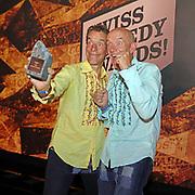 Oropax, Gewinner des Awards in der Kategorie «Ensemble». Verleihung der Swiss Comedy Awards am 20. September 2020 im Bernhard Theater Zürich.