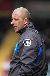 © Licensed to London News Pictures . FILE PICTURE DATED 14/04/2012 . Rochdale , UK . Rochdale FC manager's assistant JIMMY BELL at the Spotland Stadium on 14th April 2012 as Rochdale today (21st January 2013) announce they have sacked manager John Coleman and his assistant Jimmy Bell . Photo credit : Joel Goodman/LNP