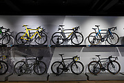 Pinarello Team SKY installation for the final stage of  The Tour of Britain 2018 - Regent Street, london.