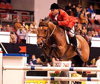 Rikstoto Grand Prix, Oslo Horse Show, Oslo Spektrum 19.10.02 <br />Saturday, October 19th 2002. ROOFS , Jan TOPS (NED)<br />Foto: Geir Egil Skog, Digitalsport