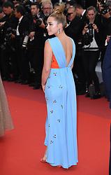 Florence Pugh attending the La Belle Epoque Premiere, during the 72nd Cannes Film Festival. Photo credit should read: Doug Peters/EMPICS