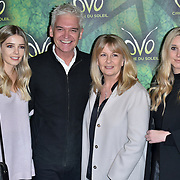 London, England, UK. 10th January 2018. Phillip Schofield and family arrives at Cirque du Soleil OVO - UK premiere at Royal Albert Hall.