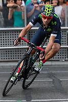 Spanish cyclist Alejandro Valverde of Movistar team during the last stage or La Vuelta of Spain in Madrid. September 10, 2016. (ALTERPHOTOS/Rodrigo Jimenez)
