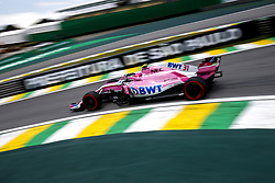 November 9, 2018 - Sao Paulo, Brazil - Motorsports: FIA Formula One World Championship 2018, Grand Prix of Brazil World Championship;2018;Grand Prix;Brazil ,  #31 Esteban Ocon (Sahara Force India F1 Team) (Credit Image: © Hoch Zwei via ZUMA Wire)