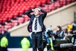 Falkirk manager Gary Holt..Hibernian 4 v 3 Falkirk, William Hill Scottish Cup Semi Final, Hampden Park..©Michael Schofield...