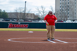 NORMAL, IL - April 06:  during a college women's softball game between the ISU Redbirds and the University of Northern Iowa Panthers on April 06 2019 at Marian Kneer Field in Normal, IL. (Photo by Alan Look)