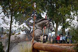 Powell Caroline (NZL) - Stellor Seaurchin<br /> FEI World Championship Young Eventing Horses <br /> Mondial du Lion - Le Lion d'Angers 2013<br /> © Dirk Caremans