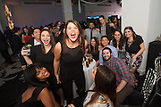 New York, NY - December 17, 2015: Mediacom staff getting rowdy at the company's holiday party at E-Space on the West Side.<br /> <br /> CREDIT: Clay Williams for Mediacom.<br /> <br /> © Clay Williams / claywilliamsphoto.com