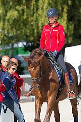 Lutkemeier Fabienne, (GER), D'Agostino FRH<br /> Alltech FEI World Equestrian Games™ 2014 - Normandy, France.<br /> © Hippo Foto Team - Leanjo de Koster<br /> 25/06/14