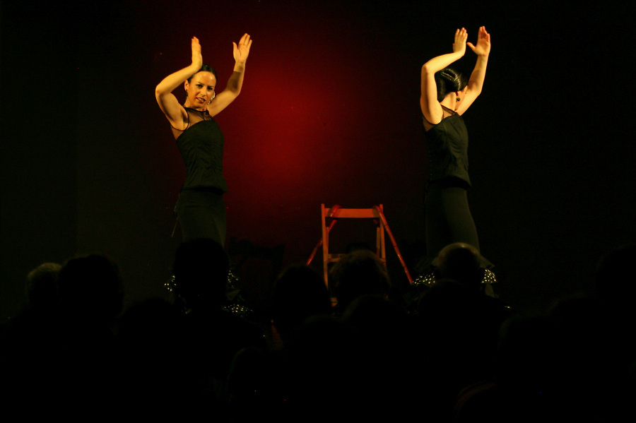 Flamenco group EnFeminino in the Civic Centre in the framework of the celebration of Woman's day.