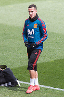Lucas Vazquez during Spain training session a few days before soccer match between Spain and Argentina in Madrid , Spain. March 24, 2018. (ALTERPHOTOS/Borja B.Hojas)