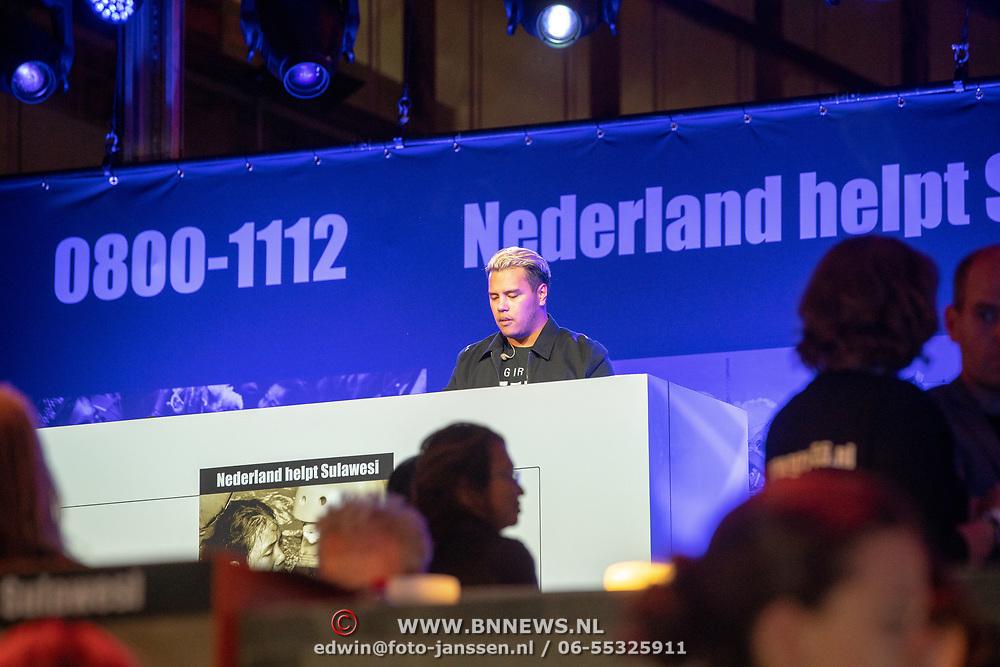 NLD/Hilversum/20181010 - Giro 555 actiedag voor Sulawesi, DJ Bouganville