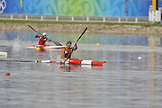 Shunyi, CHINA. Great Britain's,CAN K1, Adam van KOEVERDEN, paddles home, winning his first race and progressing through to Fri's final, of the Men's Kayak single [K1] 1000m, Fri 22.08.2008. at the 2008 Olympic Canoe/Flatwater Racing, Shunyi Rowing-Canoeing Course.  Mon 18.08.2008.  [Mandatory Credit: Peter SPURRIER, Intersport Images]