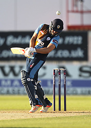 AL Hughes of Derbyshire Falcons in action - Mandatory by-line: Jack Phillips/JMP - 24/06/2016 - CRICKET - The 3aaa County Ground - Derby, United Kingdom - Derbyshire Falcons v Notts Outlaws - Natwest T20 Blast