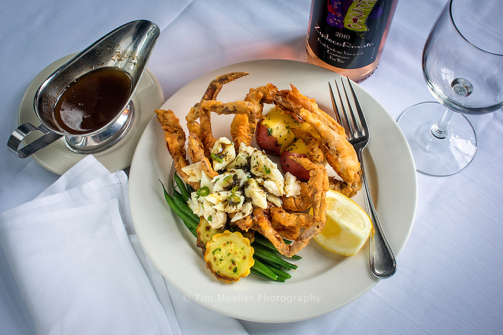 Food is a way of life and a big part of what defines Louisiana. At the New Orleans neighborhood restaurant, Clancy's, the smoked softshell crab with crabmeat is the star of the show.
