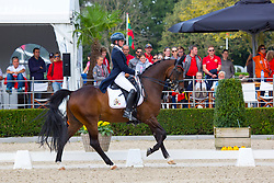 Richmond Charlotte, BEL, Hermes<br /> Juniors<br /> European Championships Dressage <br /> Roosendaal 2017<br /> © Hippo Foto - Leanjo de Koster<br /> 09/08/17